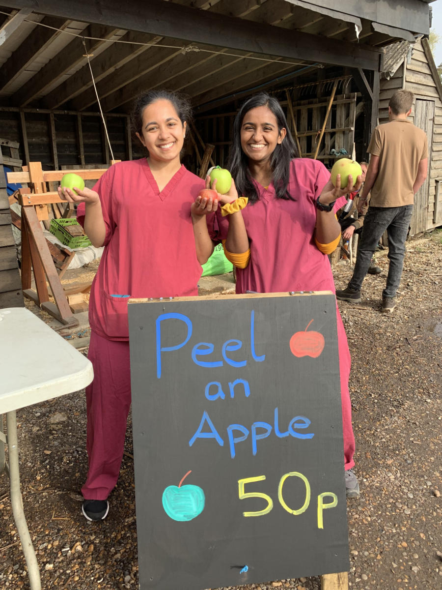 An Apple A Day does not keep us doctors away!